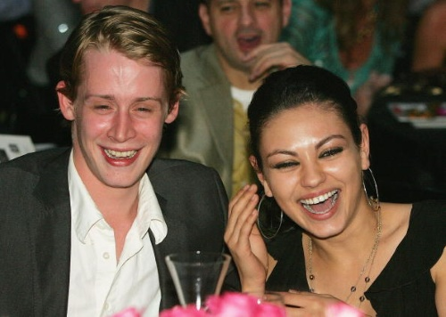 mila kunis macaulay culkin break up