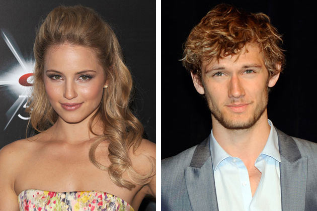 "dianna agron with boyfriend. ""I am number four"" actors,Alex Pettyfer and Diana Agron broke up after one"