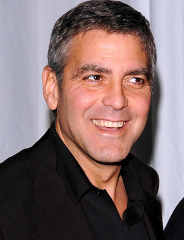 George Clooney is close turning 50 and he doesn't seem to want any presents ...