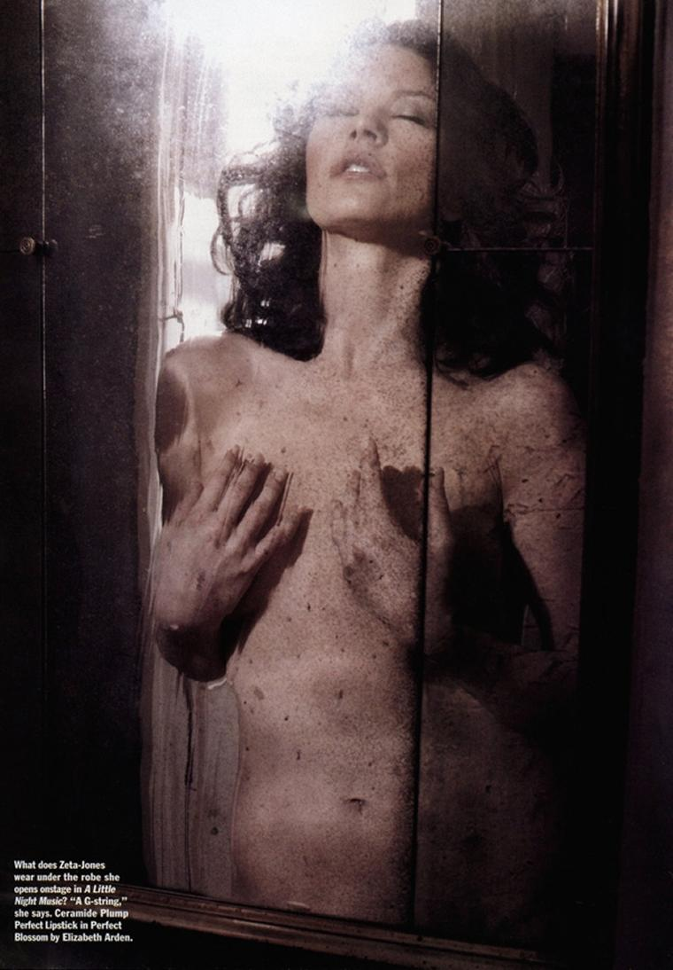 Catherine Zeta-Jones Naked In Allure Magazine!