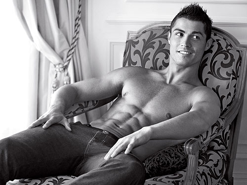 The Sex Symbol,Cristiano Ronaldo who plays for the spanish football club ...