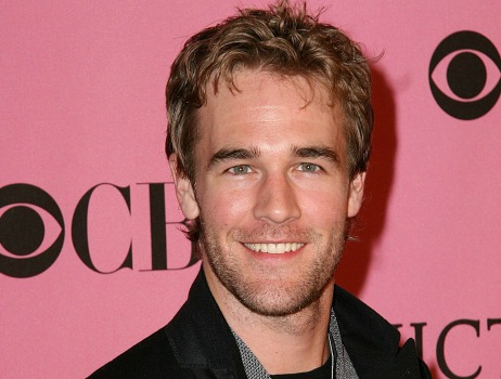 JAMES VAN DER BEEK wrote on twitter about this happy event.