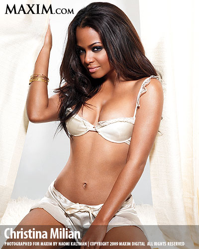 This christina milian maxim remarkable