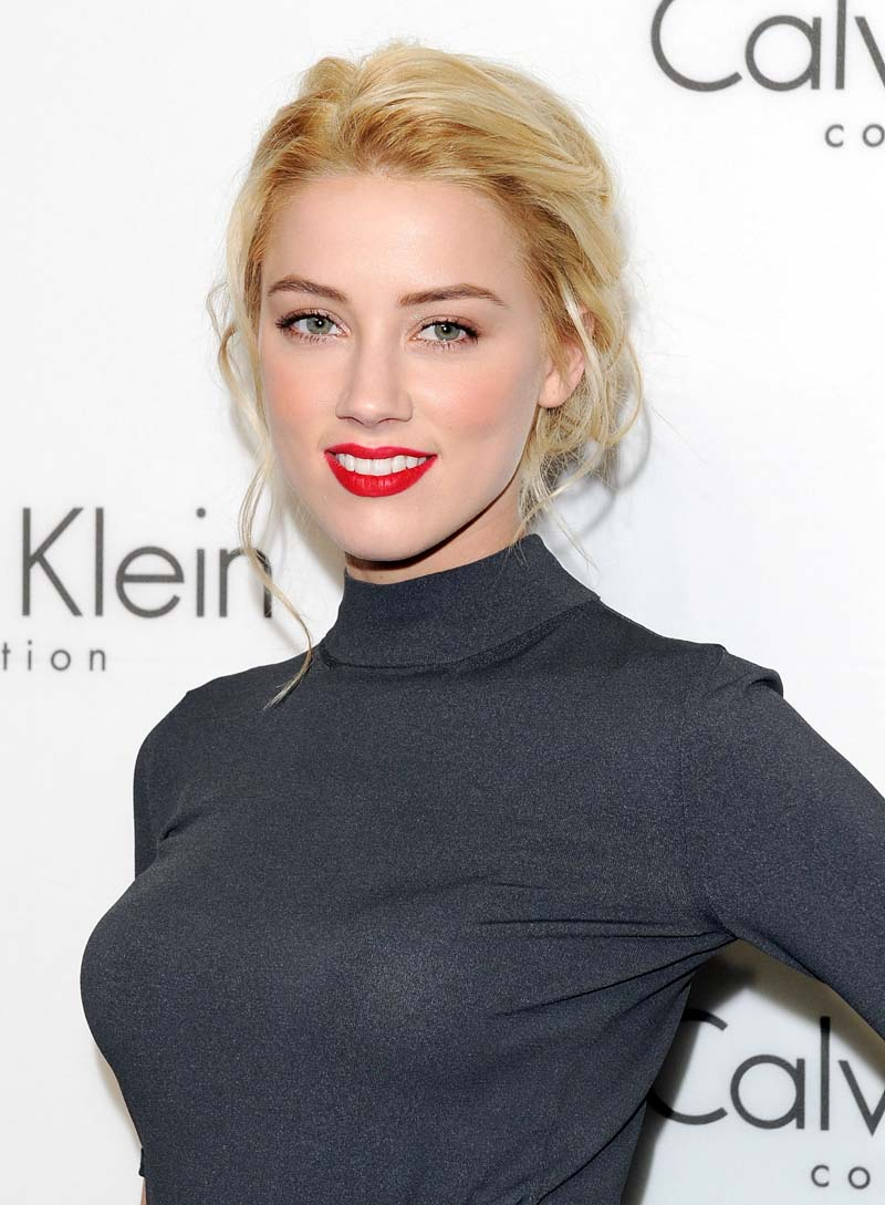 Amber Heard Is The Most Scientifically Beautiful Woman: Amber Heard 2010 Calvin Klein Collection