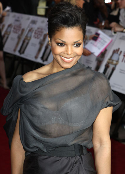 janet jackson glassy dress