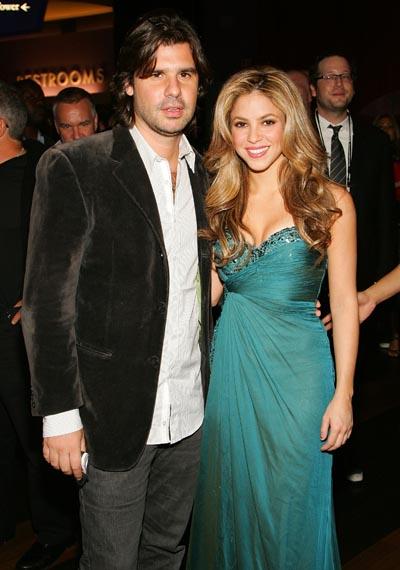 Shakira and Antonio split