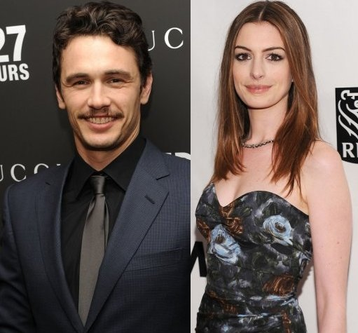 Anne Hathaway James Franco: James Franco And Anne Hathaway For Oscar Promo Video