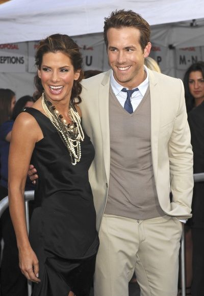 Sandra Bullock and Ryan Reynolds together