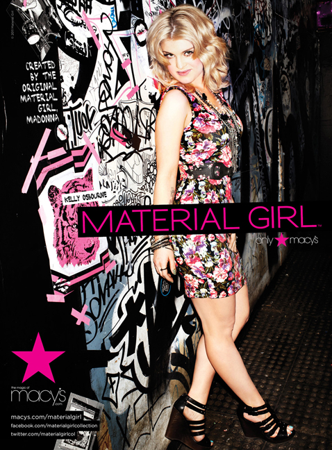 Kelly Osbourne Material Girl 2011
