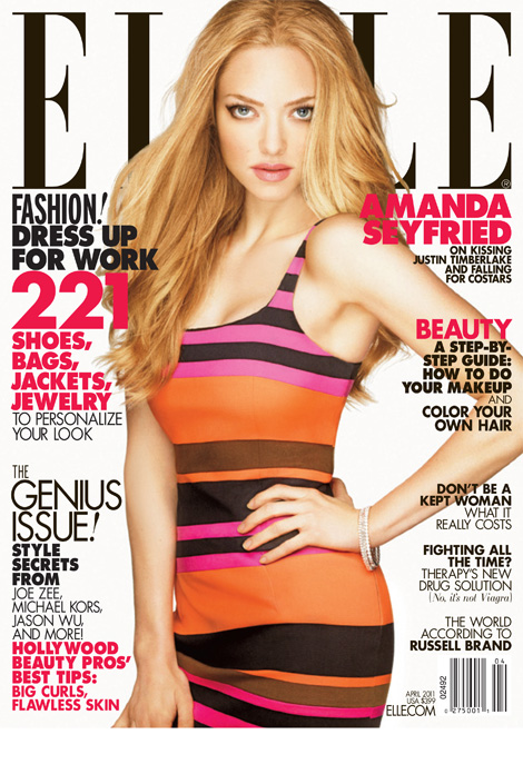 Amanda Seyfried april 2011 Issue