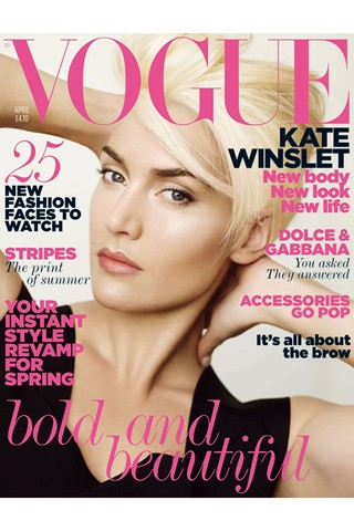 Kate Winslett in Vogue Magazine April 2011 Issue