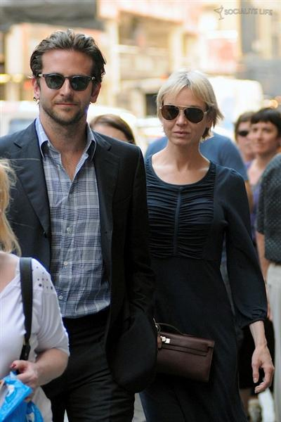 Renee and Bradley Cooper