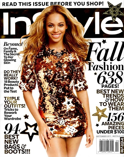 Beyonce InStyle September 2011