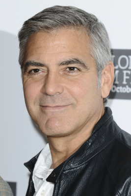 george clooney takes stacy