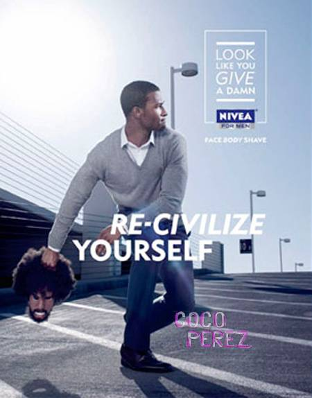 Nivea re-civilize yourself ad