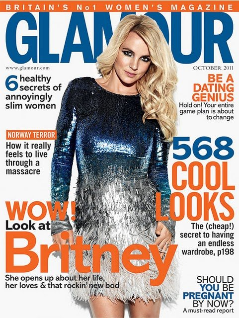 Britney Spears Glamour UK 2011