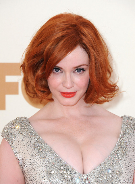 Christina Hendricks at Emmys