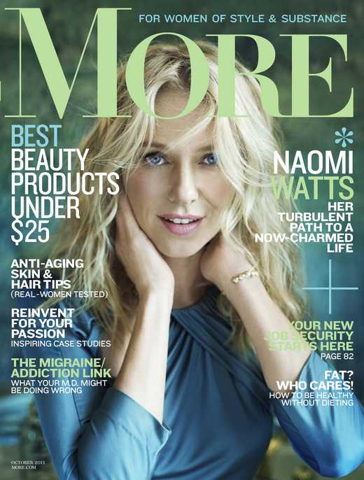 naomi watts more cover 2011