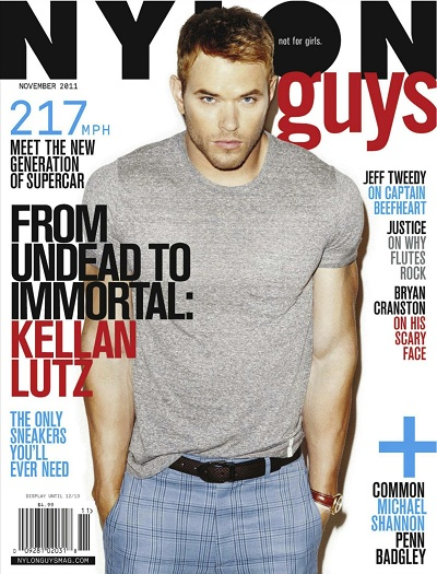 Kellan Lutz in Nylon