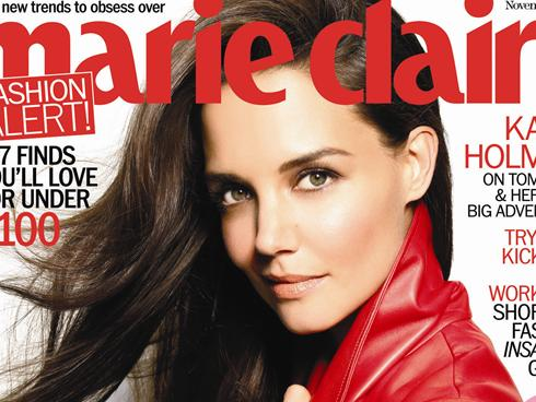 Katie Holmes Marie Claire 2011