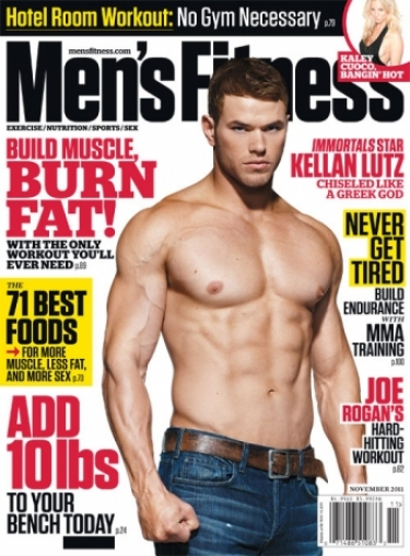Kellan Lutz workout