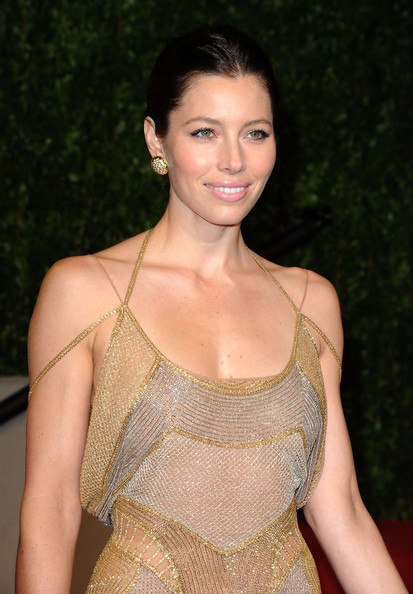 jessica biel in powder blue 2011