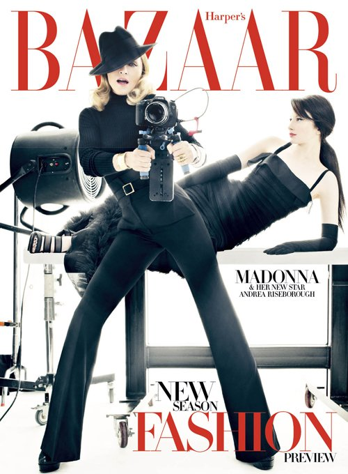 Madonna in Harpers bazaar december 2011 issue
