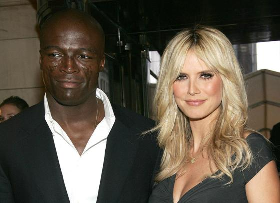 Heidi Klum and Seal over