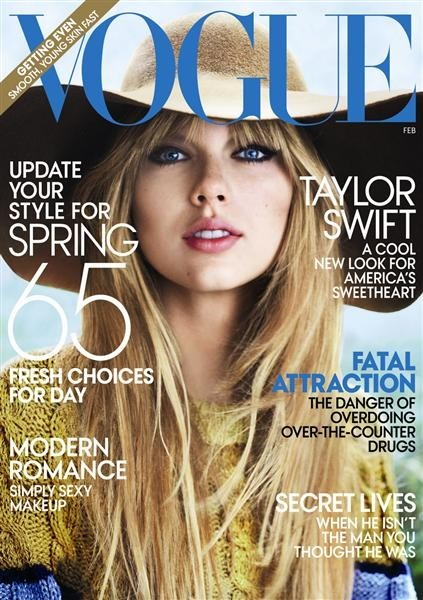 Taylor Swift Vogue February