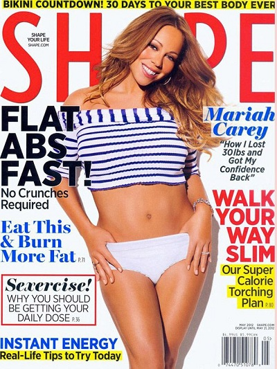 mariah carey shape magazine