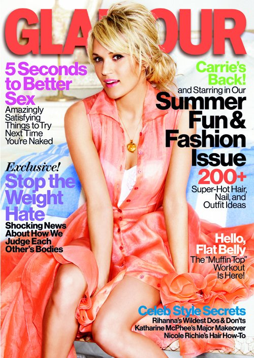 carrie underwood 2012 glamour