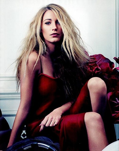 blake lively bullett magazine