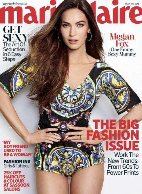 megan fox marie claire 2013