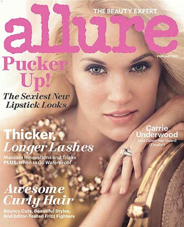 carrie underwood allure magazine