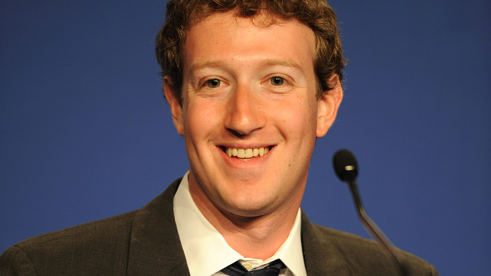 mark zuckerberg graph