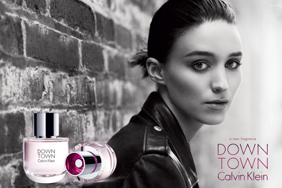 Rooney-Mara-CK-Downtown-fragrance-2013